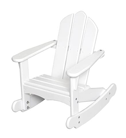 Little Colorado Child's Adirondack Rocking Chair- White by Little Colorado