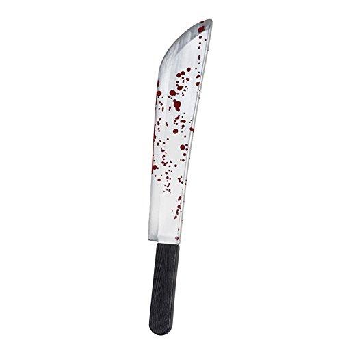 NEU Machete mit Blutspritzern, 53 (Kostüm Für Jason Kinder)
