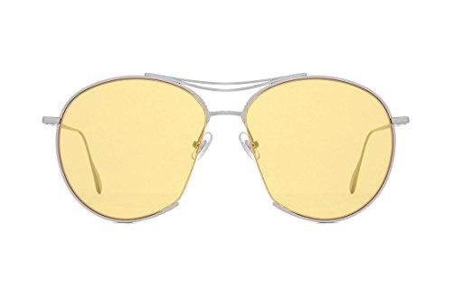 SojoS -  Occhiali da sole  - Donna Giallo giallo