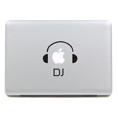 """MacBook Aufkleber, Chickwin Creative Pattern dekorativ Film Notebook Sticker Skin personalisierte Aufkleber MacBook Pro Air 13"""" Decal (DJ-Kopfhörer)"""