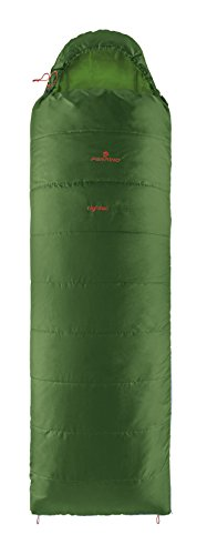 Ferrino, lightec sq, sacco a pelo unisex, verde, 700