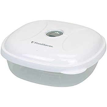 FoodSaver - T020-00024-I - Lot de 3 boîtes alimentaires pour appareil de mise sous vide - 0.75 L
