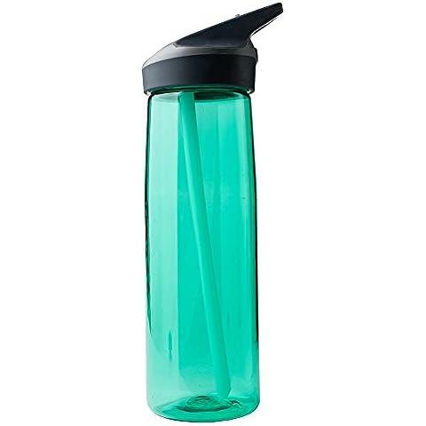 Laken Borraccia Tritan 750ML (Verde 750ml Bottiglia)