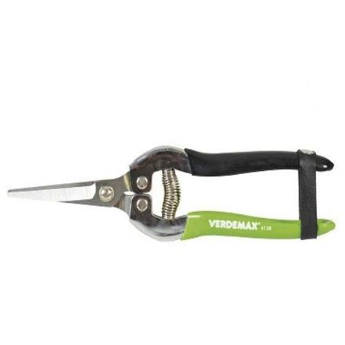 Verdemax 634138 Forbice Vendemmia, Verde