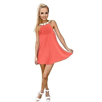 Tongshi - Vestido de gasa mini