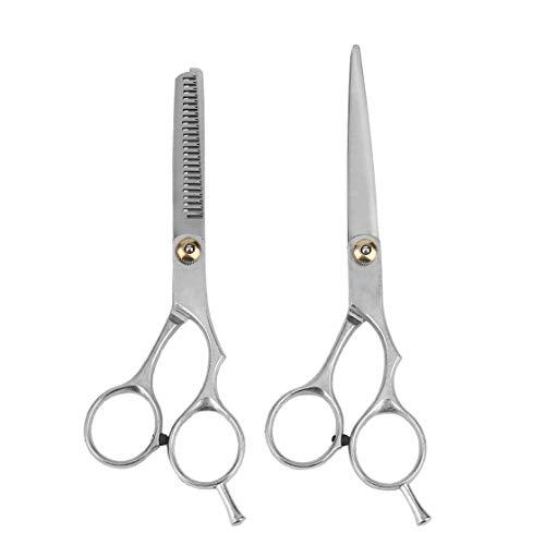 Professionelle Edelstahl Friseur Haar Schneiden Effilierschere Schere Set Friseur Salon Ausdünnung Haar Schneiden Scissor Shear Blade Set