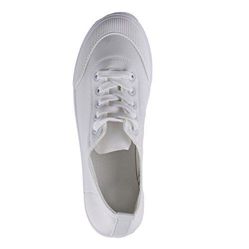 Unbekannt , Sneakers Basses femme Weiß