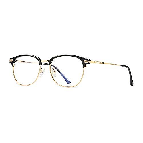 Polarisierte Sonnenbrillen für Männer und Frauen Sun glasse Flache Linsen, die alte Weisen restaurieren Die Metallrahmen Männer und Frauen Lue Shading-Brille, Anti-Glare-Müdigkeit, Kopfschmerzen,