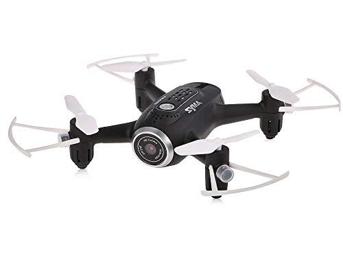 Bsd quadricottero telecomando - drone con wi-fi hd telecamera - syma x22w - real time fpv - sensore di gravità - headless mode - modalità senza testa - 6 assi gyro - 2.4 ghz - nero