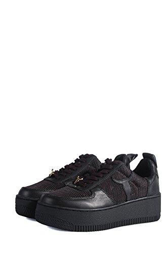 windsorsmith Racemesh Black Shoes–Schuhe Schwarzen A Netz Schwarz