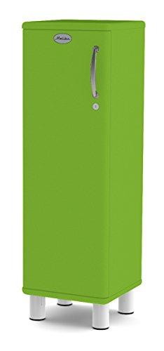 Tenzo 5121-021 Malibu Designer Schrank, niedrig Holz, grün, 34 x 35 x 111 cm