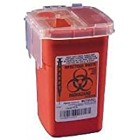 Kendall Healthcare 8900SA Sharps Phlebotomy Container Red 1 Quart by Kendall Healthcare