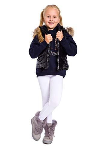 SOFTSAIL - Leggings invierno niños forro polar algodón