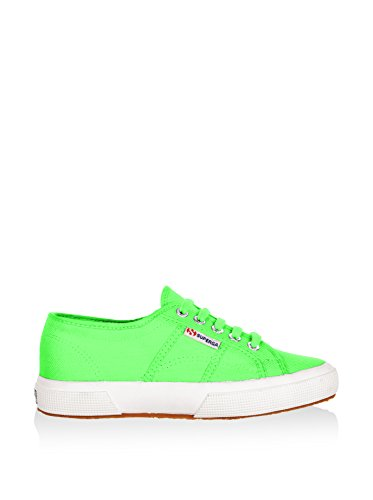 Schuhe Superga Sneakers Herren Damen Unisex 2750-plus Cotu Frühling Sommer Herbst Winter Bright Green