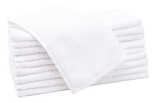 ZOLLNER Set di 10 Asciugamani per Gli Ospiti 30x50 Cotone Altra Misura