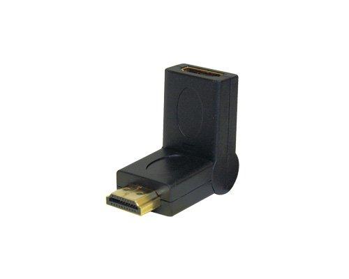 Steren BL-528–002HDMI HDMI BLACK Cable Interface/Gender Adapter–Cable Interface/Gender Adapter (HDMI, HDMI, MALE/FEMALE, GOLD, BLACK, Plastic)