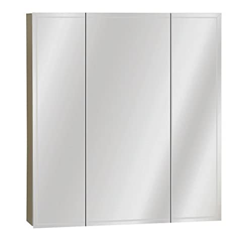 Zenith M24, Beveled Tri-View Medicine Cabinet, Frameless by ZPC Zenith Products Corporation