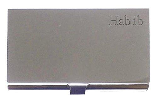 engraved-business-card-holder-engraved-name-habib-first-name-surname-nickname