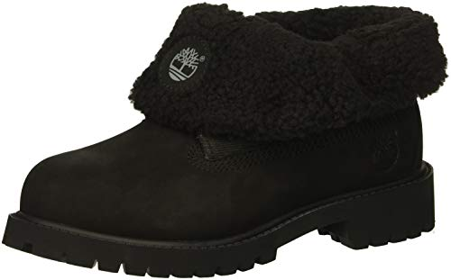 Timberland Kids' Icon Collection Roll-Top Fleece Fashion Boot (Timberland Icon 8)