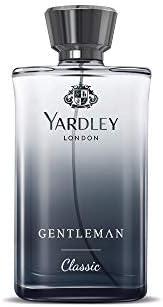 Yardley London Gentleman Classic Daily Wear Perfume (EDC) for Men, 100 ml