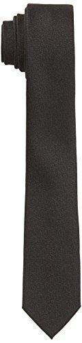 ESPRIT Collection Herren Krawatte 117EO2Q005, Schwarz (Black 001), One Size (Herstellergröße: 1SIZE)