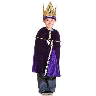 Men Kinder Kostüm Wise 3 - King or Wise Man Caspar - Kids Costume 3 - 7 years