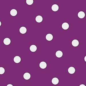 "20 Servietten, 3-lagig 1/4-Falz 33 cm x 33 cm lila ""Dots"""