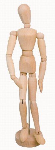 Solo Goya 4157 - Modellpuppe aus Holz, männlich 20 cm