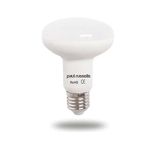 9w Led Spot Lampe (20Stück 9W Led-Reflektor-Leuchtmittel E27ES Edison Schraube Paul Russel Bright 9W = 75W Spot R80Spot Licht 270Beam Lampe 2700K warmweiß 75W Glühlampe Ersatz)