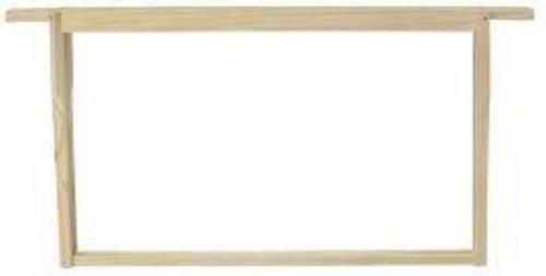 B.s National Brood Frames- 10 Pack- Plat (espacement Hoffman)