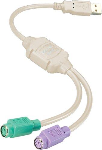 Gefen ADA-USB-PS2 Steckeradapter USB auf PS 2