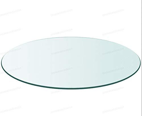 Oakome Cristal TransparenteRedondo Camilla Mesa Plano