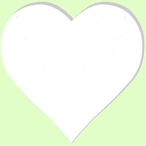 Herz Leinwand (Keilrahmen Herzform 50 cm MES 300)