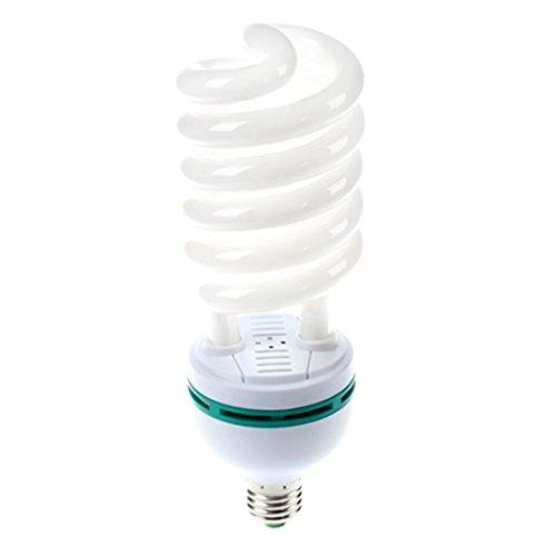 TOOGOO 105W (525W ?quiv.) 5500K Fotografie Tageslicht E27 Fassung CFL Birne -
