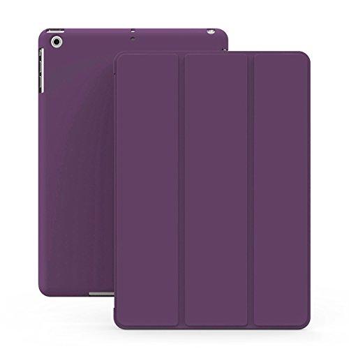 KHOMO Lila Violett Gehäuse mit doppeltem Schutz für Apple iPad Mini, iPad Mini Retina 2 und das neue iPad Mini 3 (Speck Computer-gehäuse)