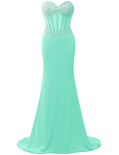 JAEDEN - Robe - Femme Turquoise