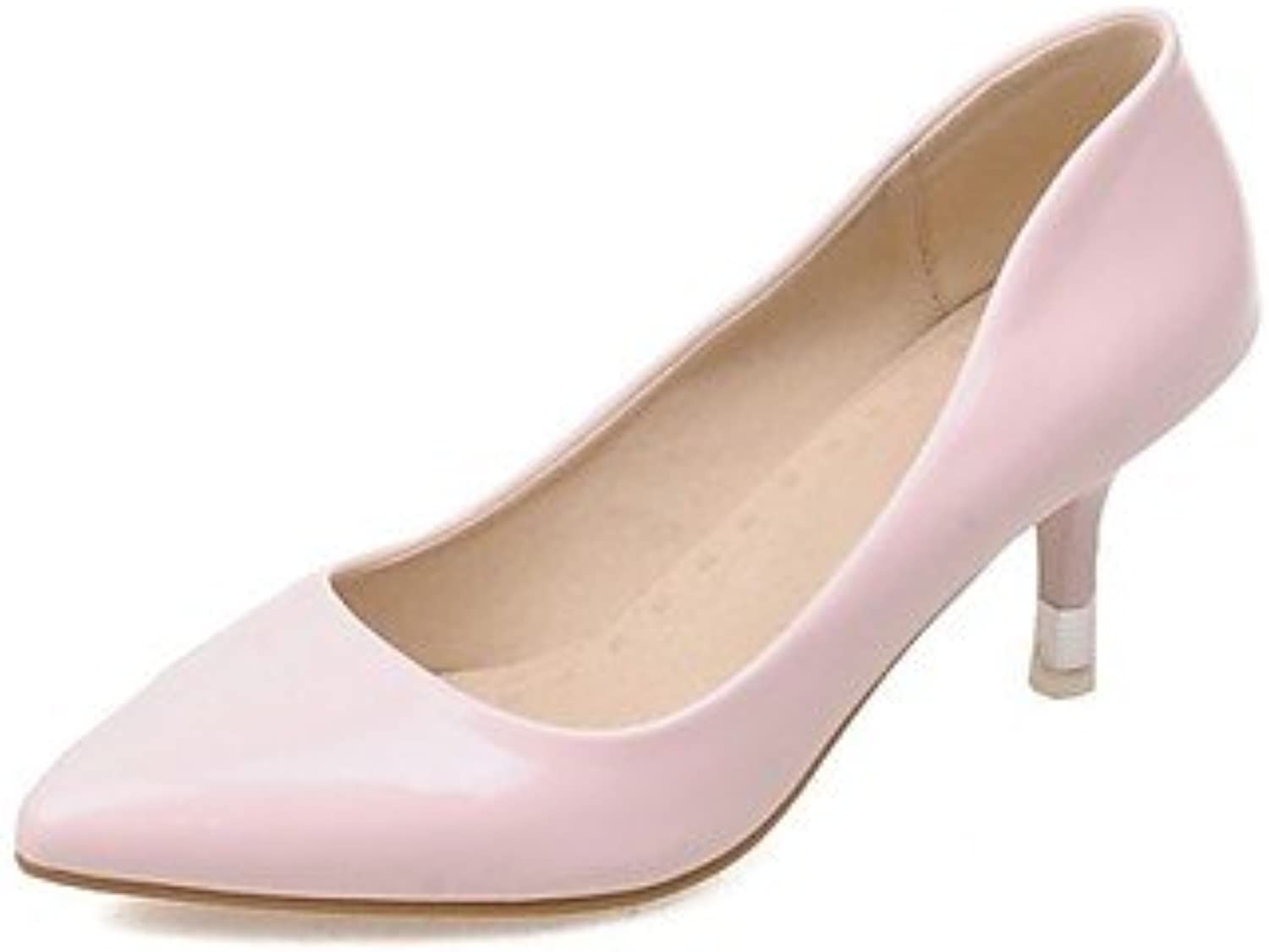 Zormey Women'S Shoes Patent Leather/Stiletto Heel Heels/Pointed Toe Heels Office &Amp; Career/Party &Amp; Evening...