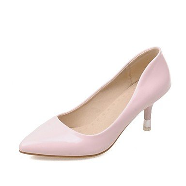 As Mulheres Sapatos Zormey Feitas De Couro / Salto Alto Salto / Sapatos De Salto B¨¹ro & Amp Carreira / Partido Ocidental / Vestido Preto / Rose Us5.5 Eu36 Uk3.5 Cn35