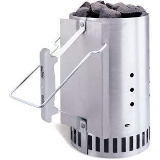 Weber Chimney BBQ Starter.