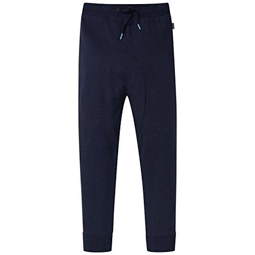 Schiesser Jungen Schlafanzughose Mix&Relax Joggpants Blau (Nachtblau 804), 140