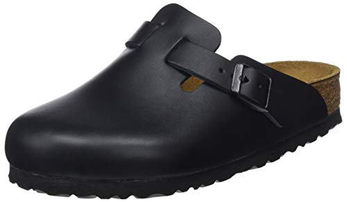 Birkenstock Boston Clog ,Schwarz, A482-43, EU Size 43 /UK Size 9
