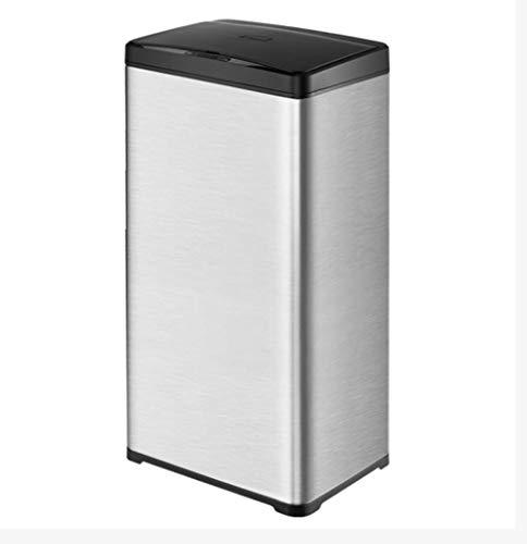 DDPP 50L Smart Sensor Trash Kann Große Größe Zu Hause Küche Commercial Hotellobby Kreatives Büro Automatische Elektrische,2,L