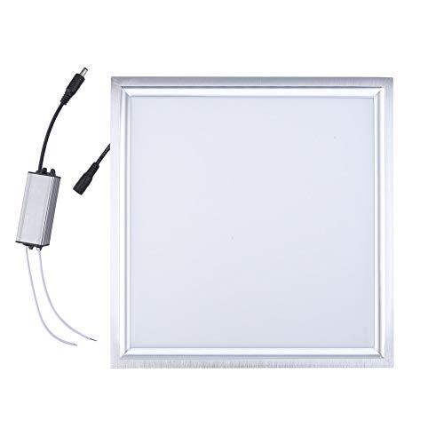 Bubbry 30x30cm 20W quadratische Aluminium LED Panel Lampe Deckenleuchte Pendelleuchte Wandleuchte