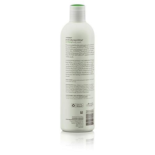 Aveeno Positively Nourishing Purifying Body Wash, 16 Fluid Ounce by Aveeno