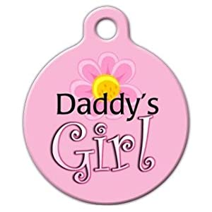 Dog Tag Art DTA-373 Daddys M-dchen Tag - Large