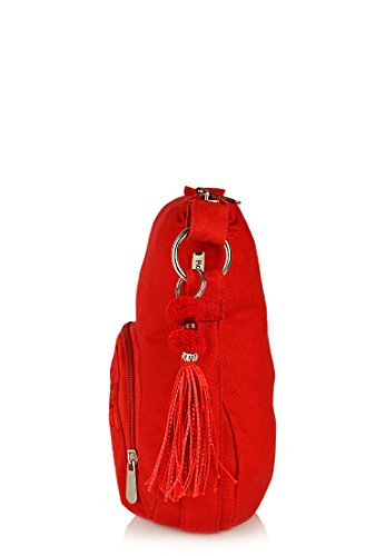 pick pocket Women's Sling Bag (Crimson, Slredemb39) Image 3