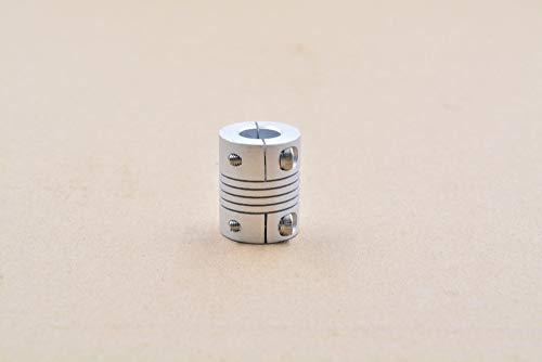 Laliva 3D-Drucker - 1 Stück D25 L30 Loch 4 mm - 12 mm starre Pflaumen-Kupplung, Schaft-Kupplung, CNC-Stepper Motor Schnitzmaschine Schraube -