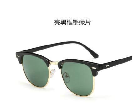 AK.SSI Klassische Retro-Sonnenbrille für Männer und Frauen