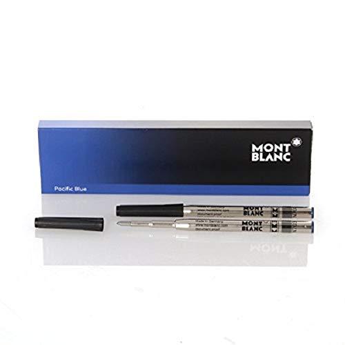 """Montblanc \""""Pacific Blue\"""" 116213 Kugelschreiber Ersatzminen M – 2 x Kugelschreibermine blau – Ballpen Refill"""