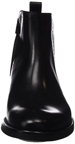 Lottusse Herren L6803 Kurzschaft Stiefel Schwarz (Ebony Negro)